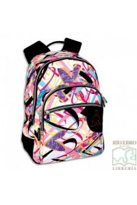 MOCHILA DAYPACK DOBLE CAMPRO LOVELY