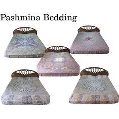 """Pashmina Bedspread"" by mogulinteriordesigns on Polyvore"