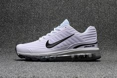 Welcome to our factory Nike shop - Cheap Nike Air Max 360 Sale - Air Max 360 Men Cheap - Nike Air Max 360 Men White Black Nike Air Max White, White Nike Shoes, Off White Shoes, Cheap Nike Air Max, Air Max 360, Nike Air Max Blanche, Air Max Sneakers, Sneakers Nike, Baskets Nike