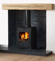 £445 Helios 5 Cleanburn Multi-Fuel Stove