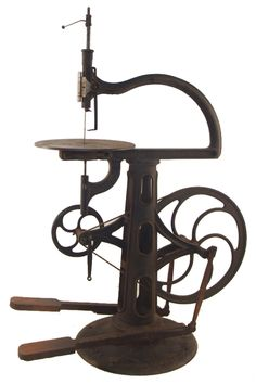 Empire dual drive pedals treadle scroll saw by the Seneca Falls Manufacturing Company