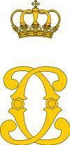 Royal monogram of His Majesty King Carol I of Romania