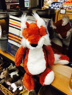 ADORABLE fox from JellyCat!! I want it!!