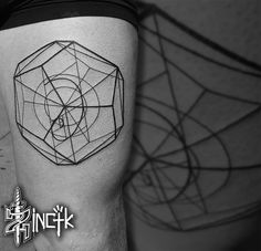 2017 trend Tiny Tattoo Idea - Martin Tattooer Zincik - Czech tattoo Artist , Geometric Golden Ratio minimalist...