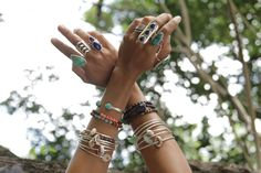 Prism + Sol – jewelry from Maui. Ugh, give me every single piece. The bead wrap bracelets are perfection.