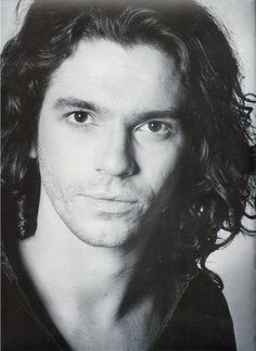 Best-known as the lead singer of Australia's most popular rock band, INXS, slinky, sexy-voiced Michael Hutchence