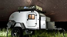Off-Road Teardrop Camping Trailers | Thema: Moby1 expedition trailers take camping off-road