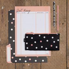 #typoshop #stationery #calendar #planner #folders #notes #notebook #pen #pencils