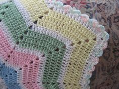 Shooting Star Baby Blanket Crochet Pattern | FaveCrafts.com