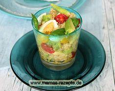 Rezept Quinoa Avocado Salat im Glas auf Mamas Rezepte Homepage
