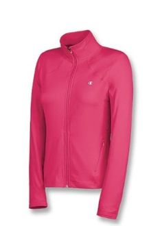 2e12f2d2d92d Amazon.com  Champion Women s Absolute Workout Jacket  Clothing