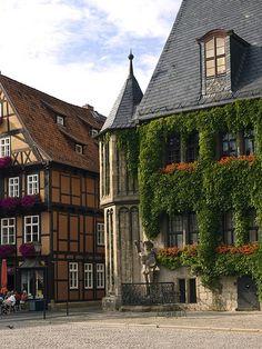 allthingseurope:Quedlinburg, Germany by schreibtnix