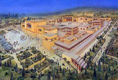 Knossos Reconstructed by Andonis Katanos