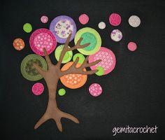 Un árbol extraño pero tiene su encanto...,