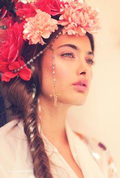 Dame De Fleur, July 7, 2014 - model Samira