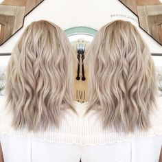 Ashy blonde// olaplex // ash blonde // cool blonde hair в 20 Ashy Hair, Cool Blonde Hair, Ombré Hair, Brown Blonde Hair, Neutral Blonde Hair, Sandy Blonde Hair, Blonde Balayage, Balayge Blond, Hair Pictures