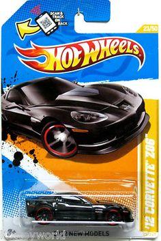 2012 Chevy Corvette Z06 Hot Wheels 2012 New Models #23/50 BLACK