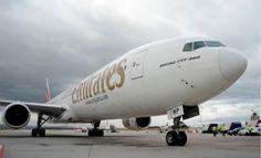 Einführung der Boeing 777-300 auf der Emirates-Verbindung nach Budapest - http://www.logistik-express.com/einfuehrung-der-boeing-777-300-auf-der-emirates-verbindung-nach-budapest/