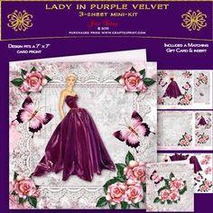 Lady In Purple Velvet