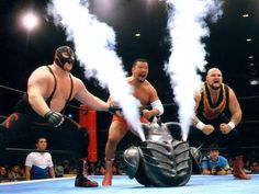 Big Van Vader, Animal, and Bam Bam Bigelow