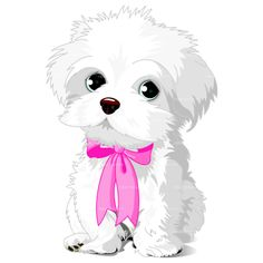 CLIPART PUPPY DOG FEMALE | Royalty free vector design
