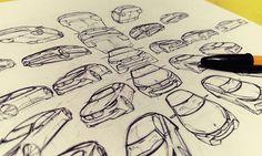 BMW Car Design Sketching