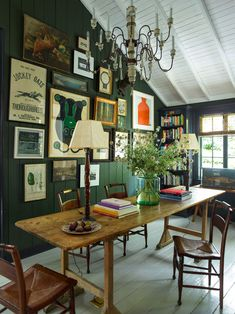 Emerald Green Dining Room  Contemporary  Dining Room Classy Green Dining Room Walls Decorating Inspiration