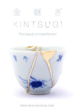 Year after year, story after story, scar after scar... The signs of the time mark the objects which surround us.These signs are the result of the story which make unique and unrepeatable each object. Kintsugi restoration marks with gold these signs, making them precious and enhancing their importance. The beauty of this technique is in the imperfection, a different beauty which make every single ceramic unique. Unique as its story preserved behind a thin gold layer. #kintsugi #japanese After Story, Kintsugi, Japanese Pottery, Restoration, Im Not Perfect, Objects, Ceramics, Signs, Unique