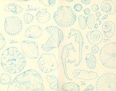 """The Sea"" by andrea joseph's illustrations, via Flickr"