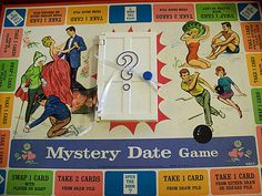 mystery date game 1965