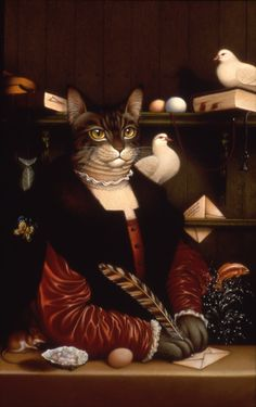 Art of Braldt Bralds This is the cover art for one of the Catfantastic books