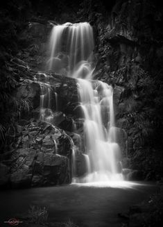 Jacobs Beauty by Quentin Oosthuizen on Bokeh Photography, Winter Photography, Street Photography, Landscape Photography, Black White Photos, Black And White Photography, Jacob's Ladder, Chiaroscuro, Waterfall