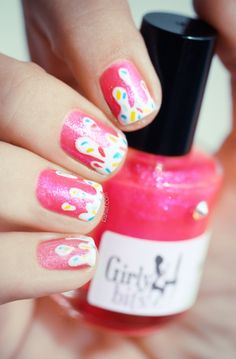 Girly bits   Jelly Shoes,very cute i work in a bakeryand i do get sprinkles on my nails.. i love it