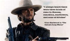 Clint Eastwood Quote My life