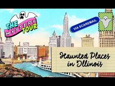 Haunted Places and Urban Legends In Illinois 👻🇺🇸 Places Around The World, Around The Worlds, Most Haunted Places, Urban Legends, Illinois, Haunted Places