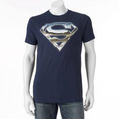 Fifth Sun DC Comics Superman Chrome Logo Tee - Big & Tall, Men's