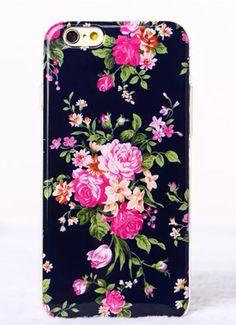 Floral Flower Soft TPU