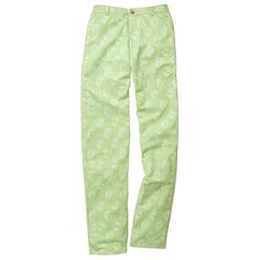 The Shucker Pant in Lime Green by Southern Proper