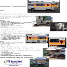 Fully refurbished and ready to go! Ready To Go, Motorhome, Diesel, Camper, Exterior, Diesel Fuel, Caravan, Rv, Travel Trailers