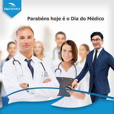 Hoje é Dia do Médico. Parabéns por cuidar da saúde de todos como de si mesmo! Uma #ExcelenteTarde pra você!