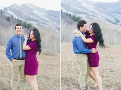 Mountain Engagements Ashley Zach | Engaged