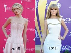 Taylor Swift ACM Awards 4 year difference. My she has changed but only for the better