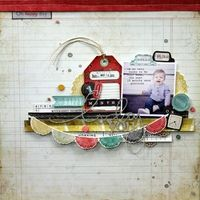 A Project by MelBlackburn from our Scrapbooking Gallery originally submitted 06/11/13 at 07:57 AM