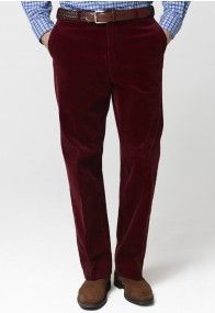 Cherry Ellroy Cord Trousers