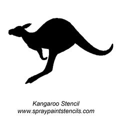 kangaroo stencil Christmas Decorations Australian, Australian Christmas, Paper Bead Jewelry, Beaded Jewelry, Silhouette Clip Art, Australia Day, Stencil Designs, Aboriginal Art, Global Art