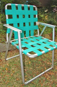 Webbed Aluminum Folding Lawn Chairs - Director seats are an instant classic was around for decades. & RIO Creations Folding Lawn Chair. Lower back than the other chair ...