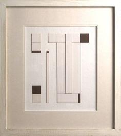 Construction-Chocolate and White by George Dannatt