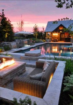 Outdoor areas, outdoor fire, pool backyard, outdoor stone, outdoor living s Outdoor Areas, Outdoor Rooms, Outdoor Fire, Outdoor Stone, Outdoor Living Spaces, Outdoor Furniture, Pool Furniture, Wicker Furniture, Furniture Ideas
