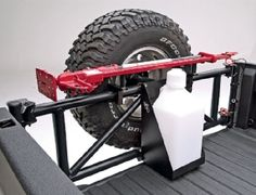 TireGate Tailgate Tire Carrier