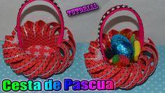 ♥ Tutorial: Cesta o Canastita de Pascua hecha de Goma Eva / Foamy || Eas...
